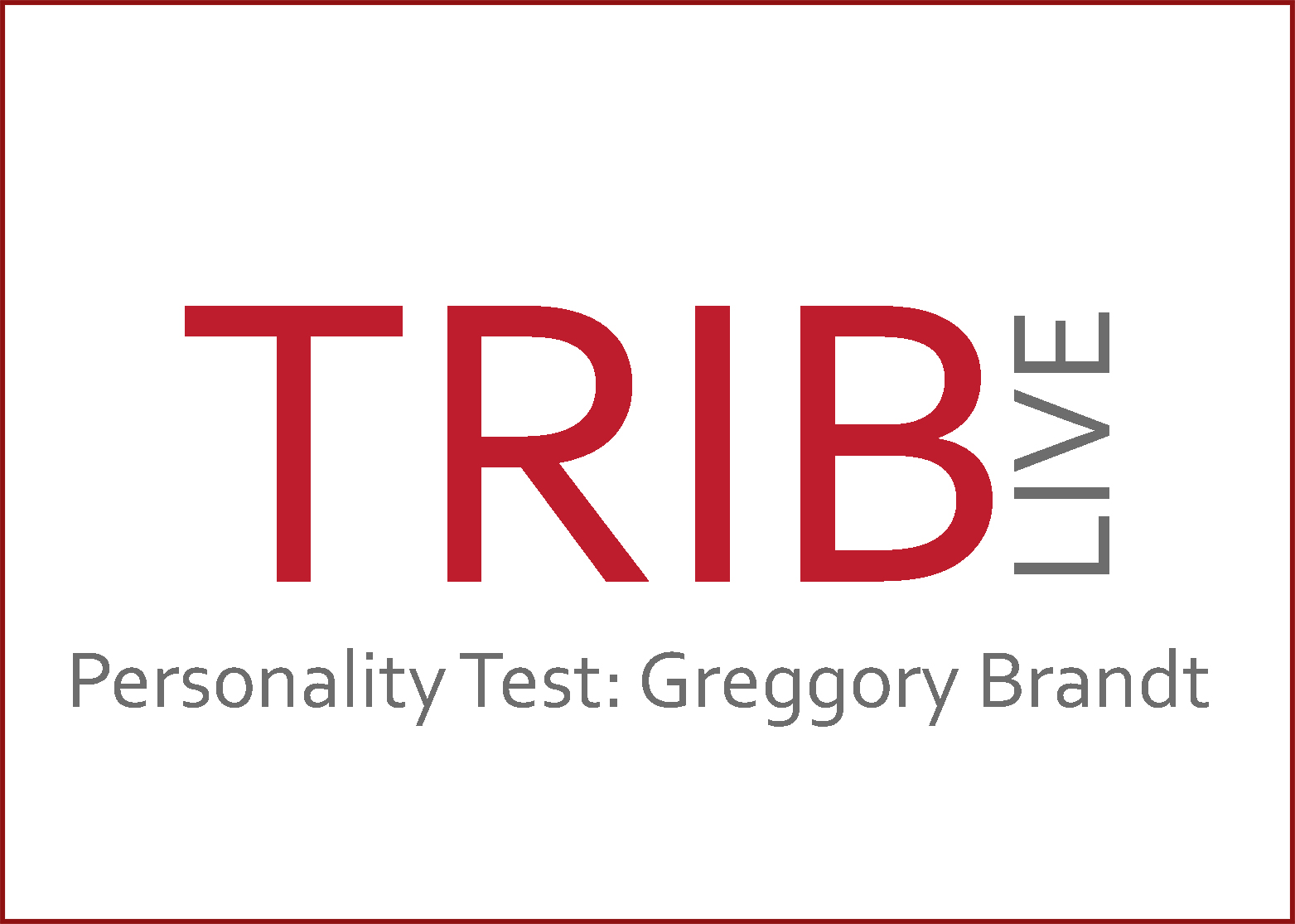 Trib Live Personality Test